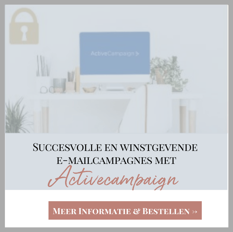 Succesvolle en winstgevende e-mailcampagnes met Activecampaign